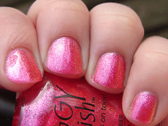 Piggy Polish Pinking of You (PuckLizardRN) Tags: pink nailpolish shimmer piggypolish pinkingofyou