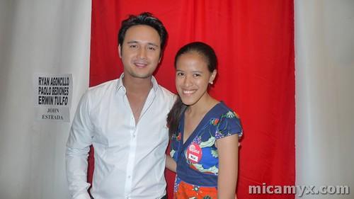 With John Estrada