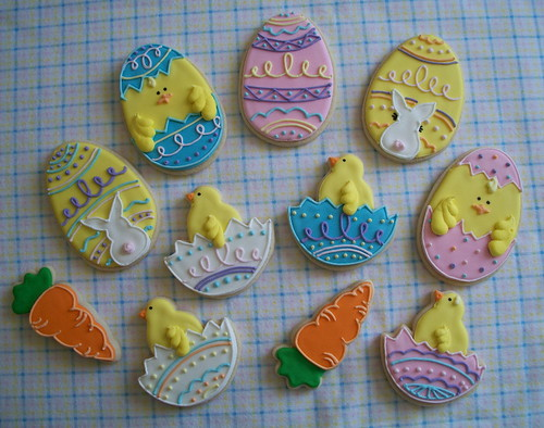More Easter Cookies