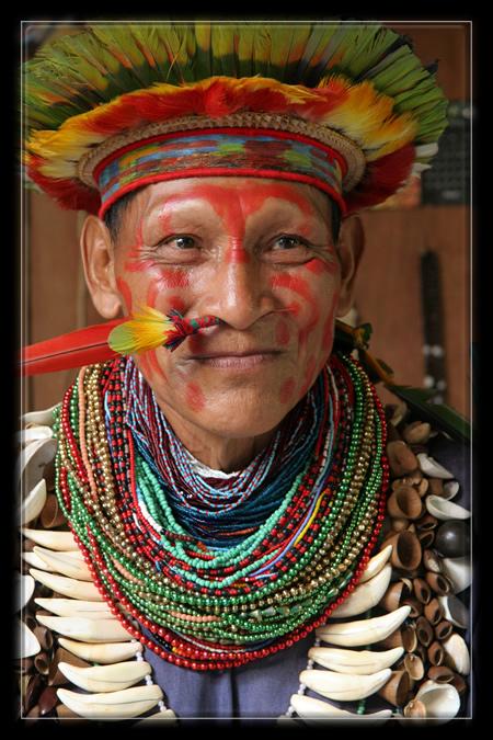 Chaman - Amazonie