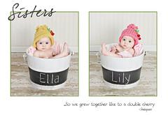 chery twin story board (kim stadler) Tags: baby girl chalk bucket twins cherries twin shakespeare 4months storyboard