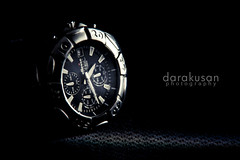 My Old Watch (darakusan) Tags: key sony low watch alpha product titanium tamron lowkey f28 70200mm ellesse a700