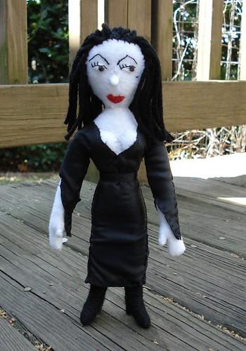 Vampira doll