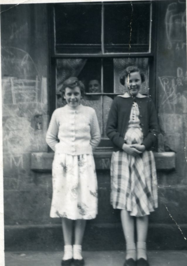 Norha and Catherine, 1954