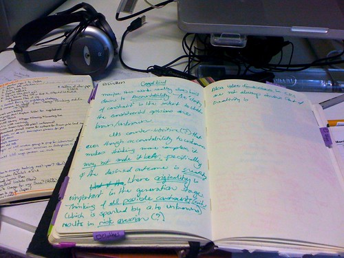 Open Research Notebook, 4 years apart (2)
