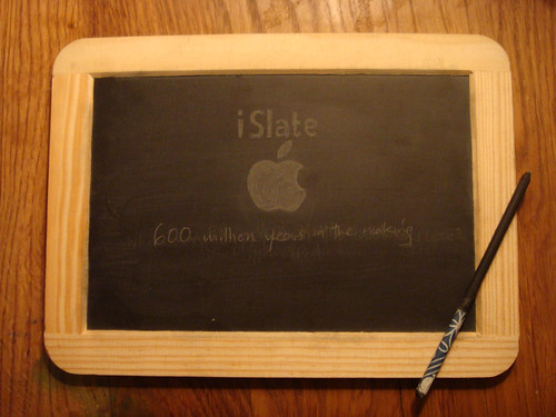 Not the Apple iPad, its the iSlate! par Dan Morelle (cc)