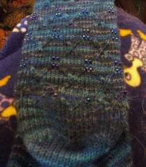 This one is the back. The transition is not quite as good, but it is on my heel. Who will even notice?