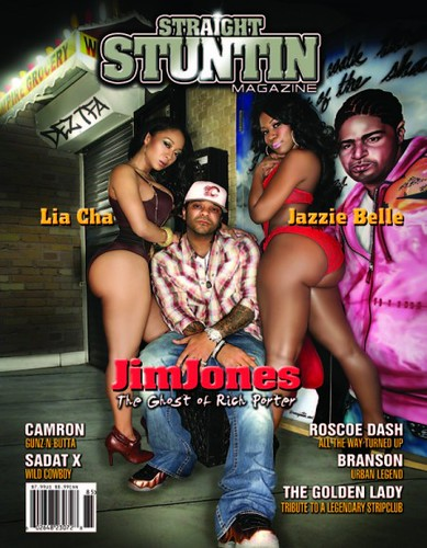 CAMRON & JIM JONES STRAIGHT STUNTIN MAGAZINE COVERS