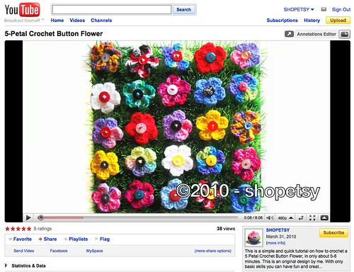How to crochet a butterfly | Video « Wonder How To