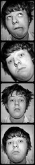 Filmstrip of a Mad Hair Day (Zach Williams (struggling to keep up - sorry!)) Tags: portrait white black self canon eos mono big labs huge bighugelabs