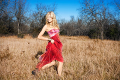 The Safari (ryanstrong) Tags: blue sky nature beautiful field fashion female photography high model dress outdoor ryan hunting style running safari kansascity burn end dodge strong outback chic standard retouching hunt bangles blone dianevonfurstenberg