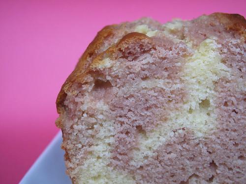 Cake marmorizzato alla fragola