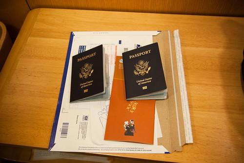 Passports with Visas