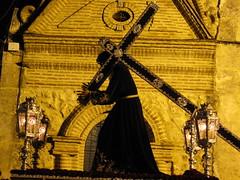 Jueves santo-Hermandad de Jess Nazareno-Alameda-Mlaga- (lameato feliz) Tags: espaa andaluca spain silueta semanasanta cofrade