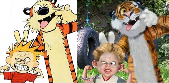 calvin and hobbes real