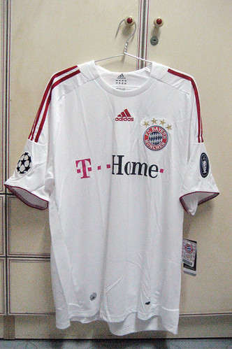 Bayern Munich 2008-2009 UCL Away S/S