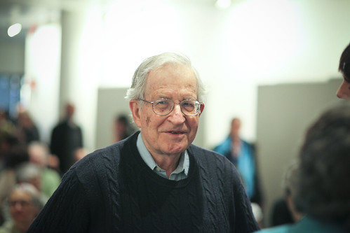 From flickr.com: Noam Chomsky {MID-59860}