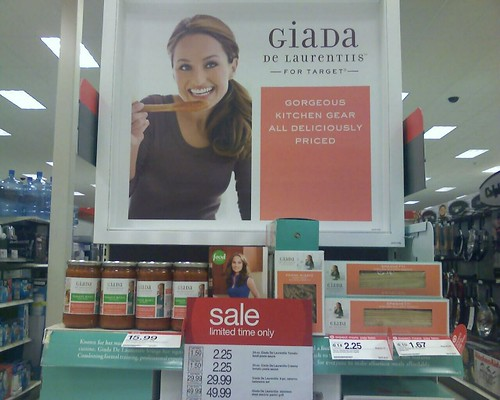 Giada Dilaurentiis for Target. Cookware, pasta and dressing.