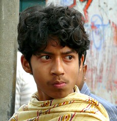 Young Man's Portrait at Matiari Village, West Bengal (Sekitar) Tags: boy portrait india man west male village young bengal laki pria sekitar matiari earthasia sekitar