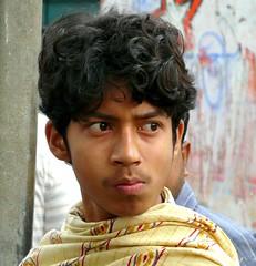 Young Man's Portrait at Matiari Village, West Bengal (Sekitar - thanx for 10 Mio views!) Tags: boy portrait india man west male village young bengal laki pria sekitar matiari earthasia sekitar