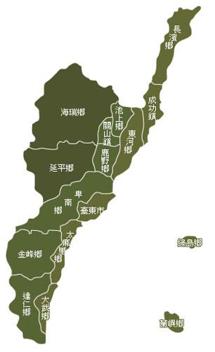 台東縣地圖