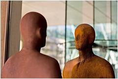 Gormley - Talking Heads (louisberk.com) Tags: london statue gormley greatportlandstreet maryleboneroad leicam8 gormleystatue cvnokton5015