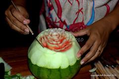 fruit carving01-pondok pekak, ubud bali