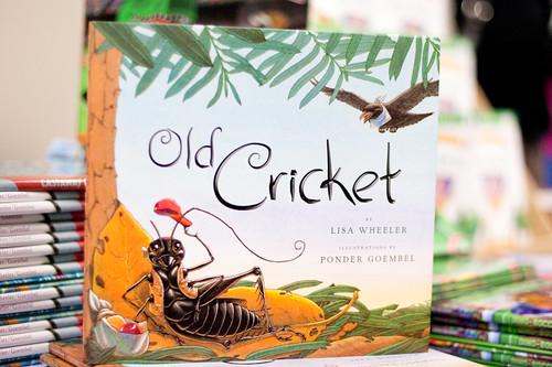 Old Cricket, by Lisa Wheeler. Illustrated by Ponder Goembel