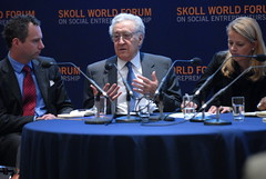 Peace Building and Conflict (Skoll World Forum) Tags: scott mabel van oranje gilmore brahimi lakhdar