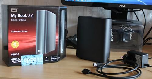 WD My Book 3.0 (1TB) išorinis USB 3.0 diskas