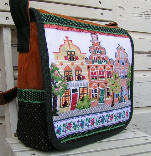3 Dutch houses bag