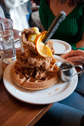 Chicken and waffles!!