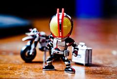 Megahouse Deforide 001 - Kamen Rider Faiz (fendyzaidan) Tags: toys cuteness sic 555 deform 50mmf18 megahouse maskedrider bokehlicious nikond80 fgure kamenriderfaiz deforide