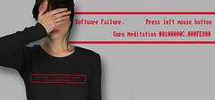 Guru Meditation (www.lowrez.de) Tags: error tshirt amiga retro homecomputer gurumeditation connodore