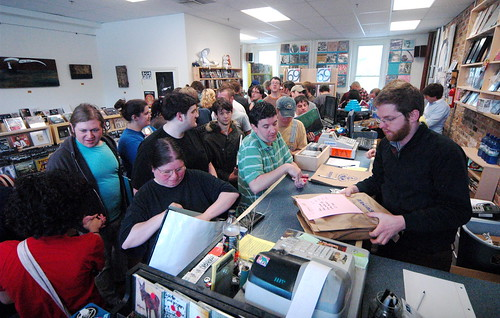 On the streets of Ashvegas: Record Store Day at Harvest Records
