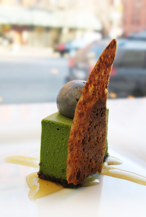 Kyotofu Matcha Green Tea Tofu Cheesecake