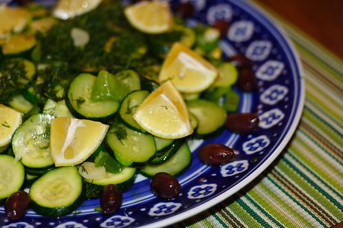 Warm Zucchini salad0003