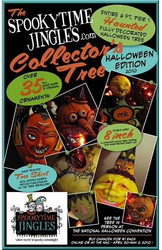 Halloween Raffle Tree Poster!