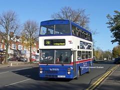 B812AOP, 2812 on Highfield Road (MCW1987) Tags: road wood green metrobus twm highfield yardley mcw 2812 acocks b812aop