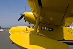 Grumman G-44 Widgeon (Trent Bell) Tags: california field plane airplane airport aircraft socal openhouse seaplane 2010 widgeon grumman laverne brackett g44 n45pv