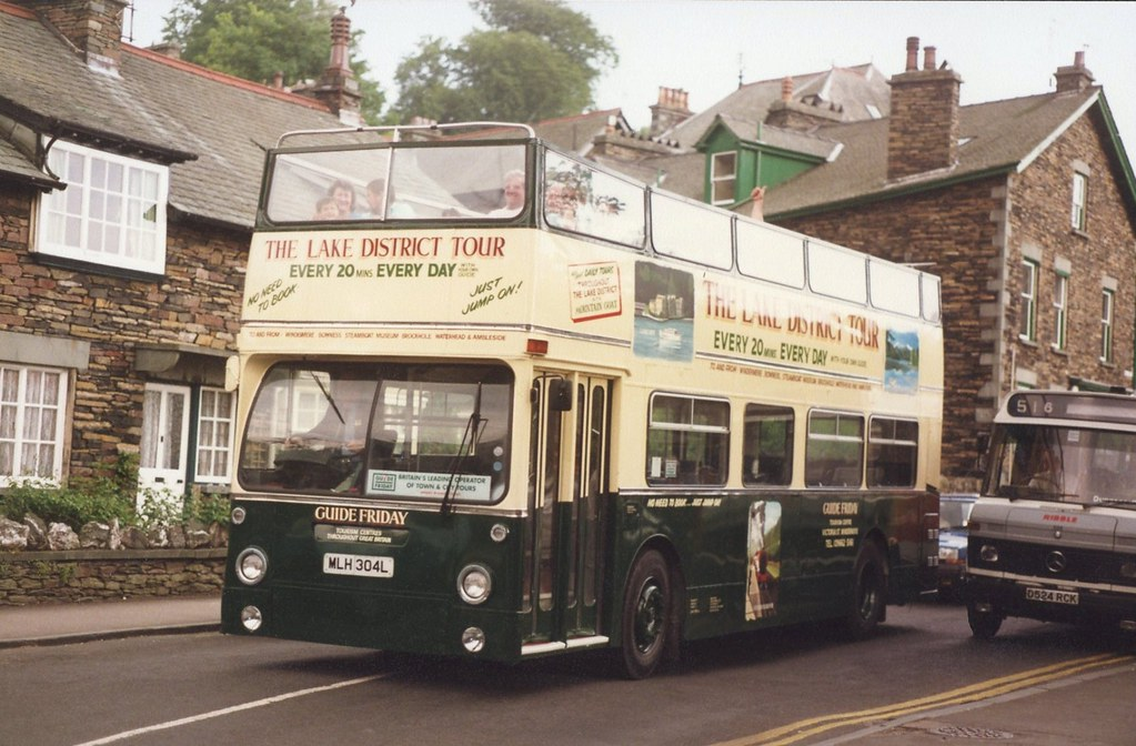 Guide Friday (Lake District Tour) MLH 304L, ex London Transport DMS1304