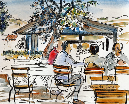 Turkey, Artemis restaurant, Sirince