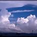 nubes en Lorca