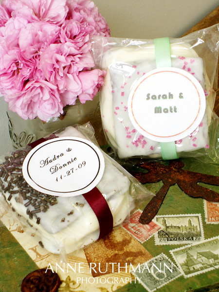 Sweet Lydia's Custom Smores Favors