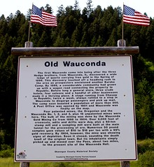 Old Wauconda historical marker (by: Daniel Liu, creative commons license)