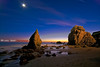 El Matador @ Night (Michael Bandy) Tags: california sky seascape beach nature night coast losangeles nikon pacific malibu pacificocean socal coastline southerncalifornia 1020mm rockybeach californiacoast elmatador sigma1020mm 10mm losangelescounty blueribbonwinner coastalrocks d80 outstandingshots labeach elmatadorstatebeach nikond80 beachsilhouette pinnaclephotography