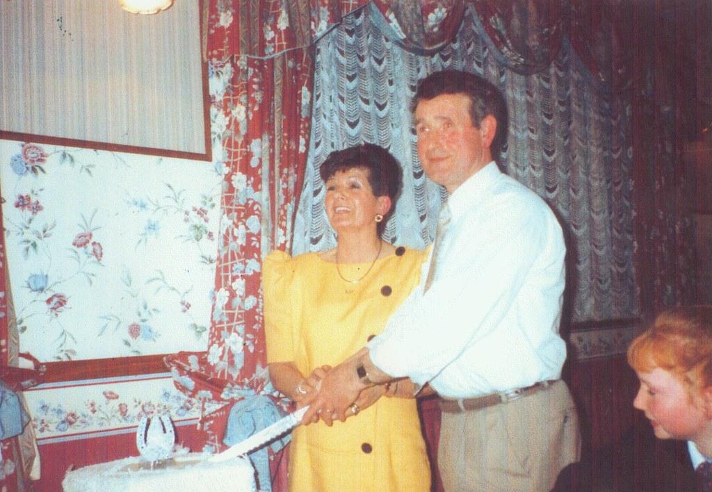 Wedding anniversary Patrick Shoeian 1993