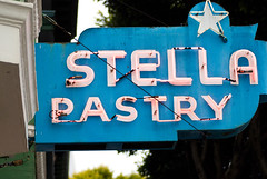 Stella Pastry (Austin.Welsh) Tags: sanfrancisco sign sony tamron 90mm a330