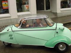 Messerschmitt Kabinenroller (micky the pixel) Tags: auto car schweiz switzerland bubble oldtimer zürich fahrzeug messerschmitt fend bubblecar kabinenroller