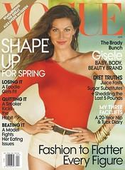 Gisele Bundchen Vogue Magazine Fansite